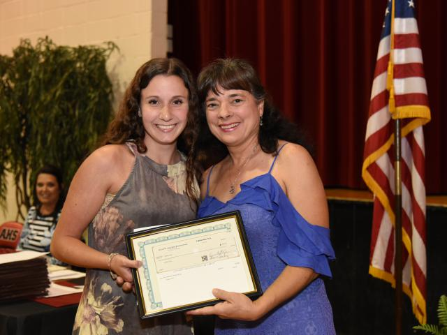 News - 2018 Scholarships & Beta Club Donation - Pierre Part - Belle River Business Group